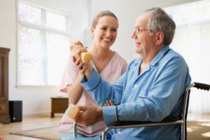 Гимнастика для больных после инсульта