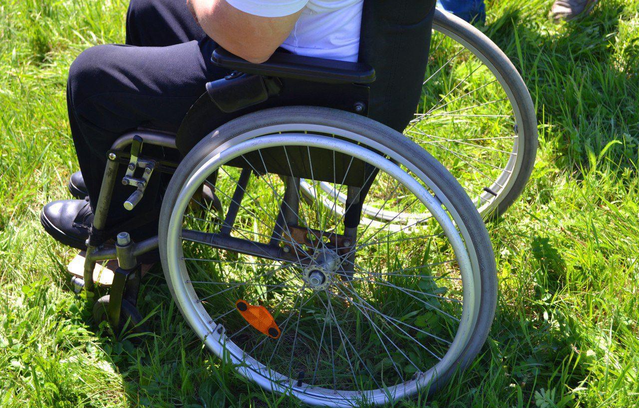 прогулка инвалида