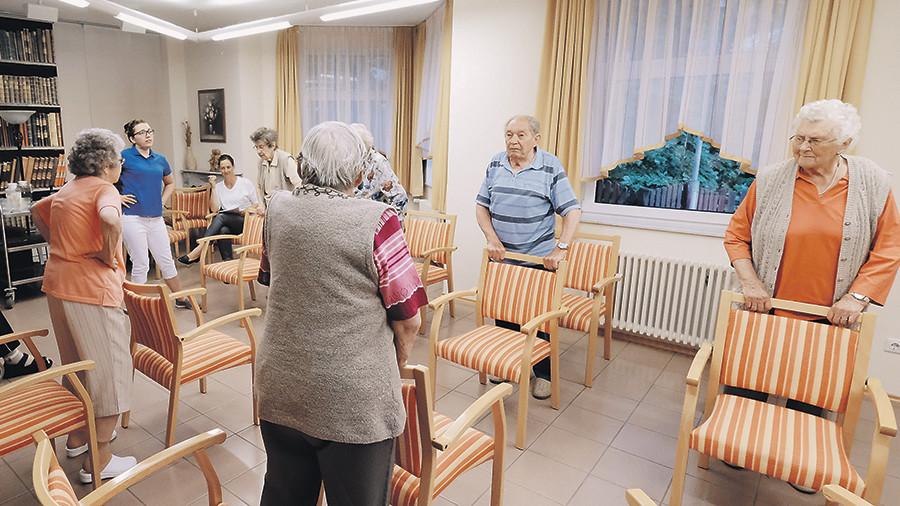 хорошие условия дома престарелых