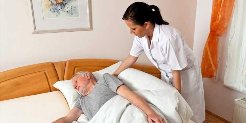 массаж для лежачих больных