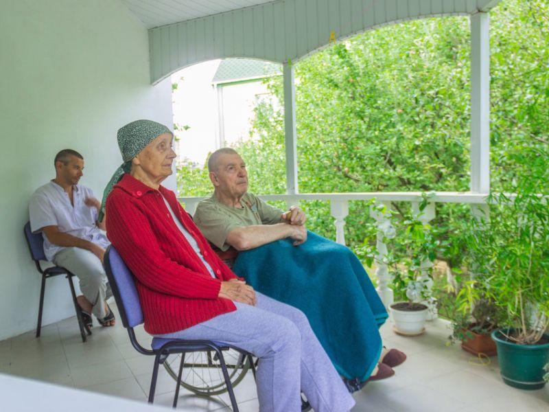 дорогой пансионат для пожилых