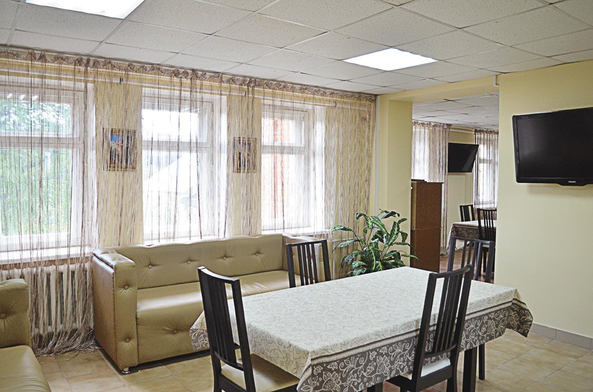 кухня дома престарелых