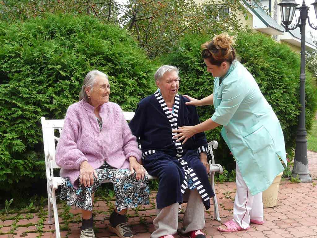 пансионат для стариков