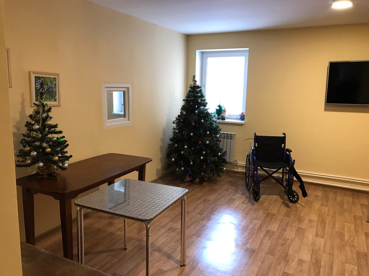 условия дома престарелых